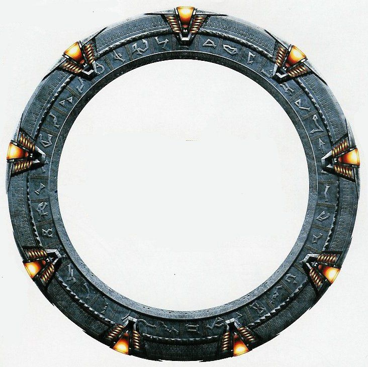 Stargate Symbols Aerial Drone My...