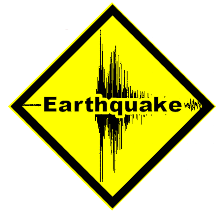 Massive M8.0 Earthquake Strikes Peru EARTHQUAKE_CAUTION_SIGN