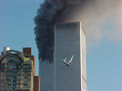 Plane  on Terrorists Fly United Airlines Flight 175